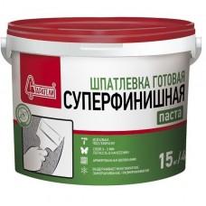 Шпатлевка полимерная Старатели Суперфинишная 15 кг