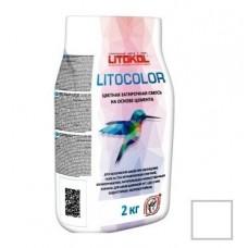 Litokol Litocolor L.00 белая 2 кг