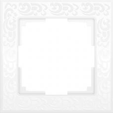 Рамка одноместная Werkel Flock WL05-Frame-01-white белая