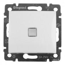 Механизм выключателя Legrand Valena 774410 одноклавишный c индикатором белый