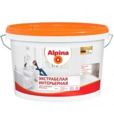Краска Alpina Экстрабелая интерьерная матовая 2,5 л