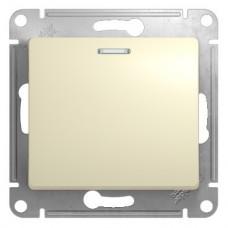 Механизм переключателя Schneider Electric Glossa GSL000263 одноклавишный с индикатором бежевый