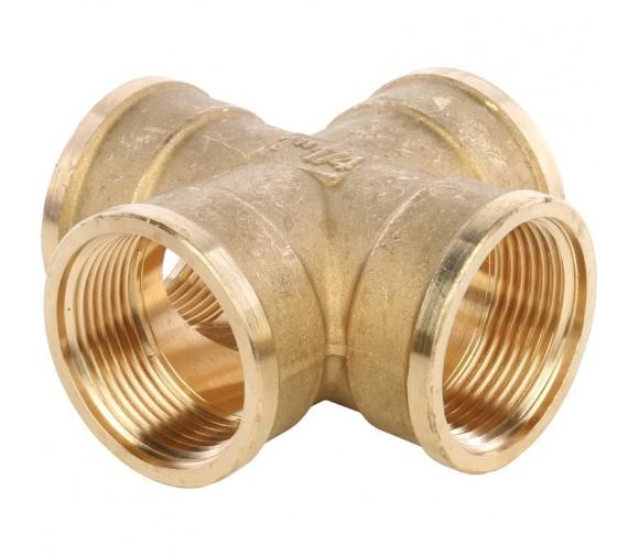 Крестовина Stout SFT-0030-000114 1 1/4 дюйма с внутренней резьбой