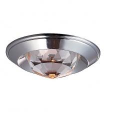 Светильник встраиваемый Novotech Glam 369427 NT10 233 хром GX5.3 50W 12V