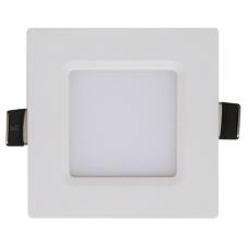 Панель светодиодная In-Home SLP-eco квадратная 3 Вт белая