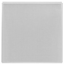 Потолок кассетный Албес AP600A6-E Эконом/45°/Т-24 A903RUS01/F d=1.5 белый матовый перфорированный 600х600 мм