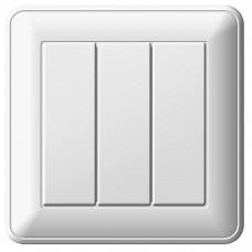 Выключатель Schneider Electric W59 VS0516-351-18 трехклавишный белый
