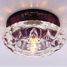 Светильник точечный встраиваемый Italmac Bohemia 220 8 74 G9 пурпур 40 Вт