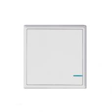 Комплект выключателя дистанционного Gritt Practic A180101W одноклавишный белый