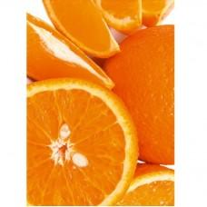 Фотообои виниловые на флизелиновой основе Decocode Апельсиновое настроение 21-0053-UW 2х2,8 м