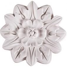 Розетка потолочная полиуретановая Decomaster 80195 195 мм
