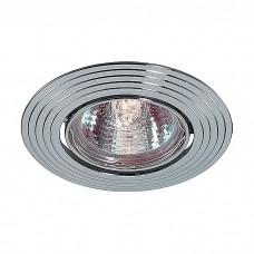 Светильник встраиваемый поворотный Novotech Antic 369431 NT10 273 хром GX5.3 50W 12V