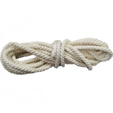 Веревка х/б крученая Ф12мм (11м) 298 кгс
