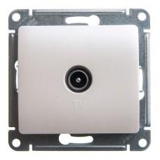 Механизм TV розетки Schneider Electric Glossa GSL000691 оконечный одноместный перламутр