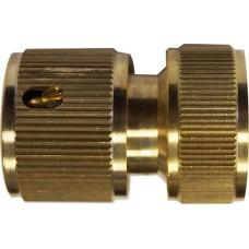 Соединитель латунный, внутренняя резьба 3/4 быстросъёмный