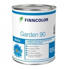 Эмаль алкидная Finncolor Garden 90 база C 0,9 л