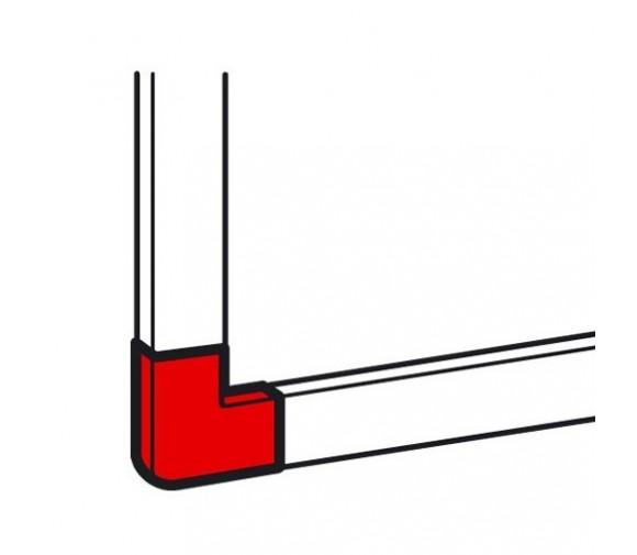 Угол плоский для мини-канала Legrand Metra 638153 40х16 мм