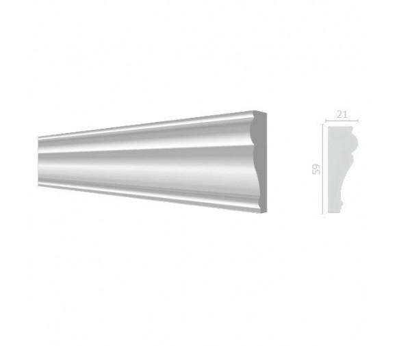 Молдинг из дюрополимера Decor-Dizayn 161 A 2000х60х20 мм
