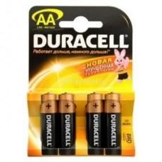 Батарейка алкалиновая Duracell Basic AA LR6 Bl-4 4 шт