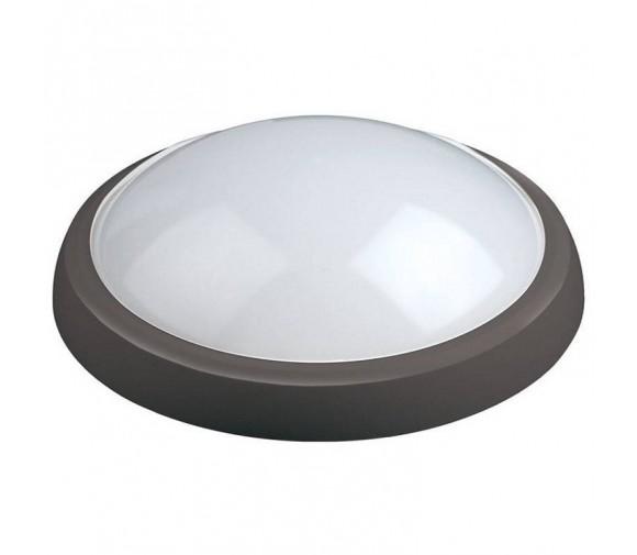 Светильник светодиодный Uniel ULW-O04-12W/NW IP65 Black влагозащищенный