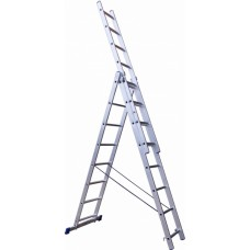 "Лестница трехсекц. универс. алюмин.3х12 ст,Политех ""СТАНДАРТ"""