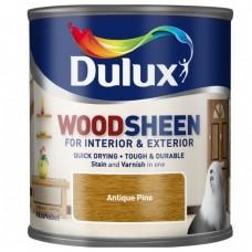 Лак-морилка на водной основе Dulux Woodsheen по дереву полуматовый сосна 0,25 л