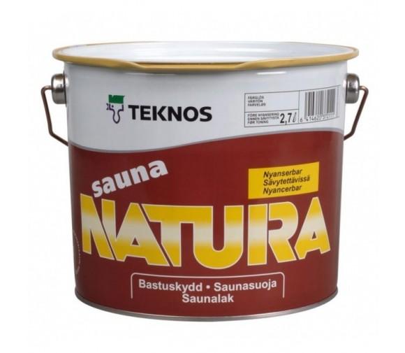 Антисептик Teknos Sauna Natura 9 л
