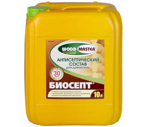 Антисептик Woodmaster Биосепт 10 л