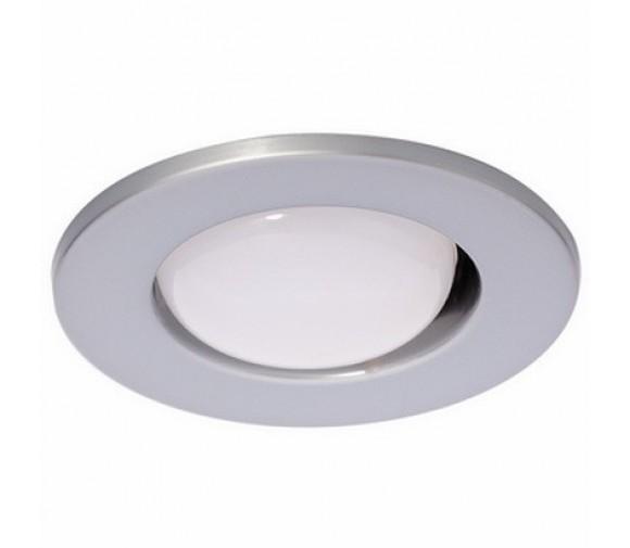 Светильник точечный встраиваемый Italmac Prima 50 0 12 R50 матовый хром 60 Вт