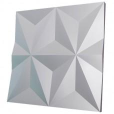 Дизайнерская 3D панель из гипса Artgypspanel Шестиконечная звезда 500х500 мм