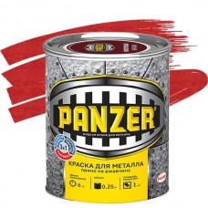 Panzer молотковая красная 0,25 л
