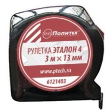 Рулетка Эталон-4 5 м*19 мм пластиковый корпус