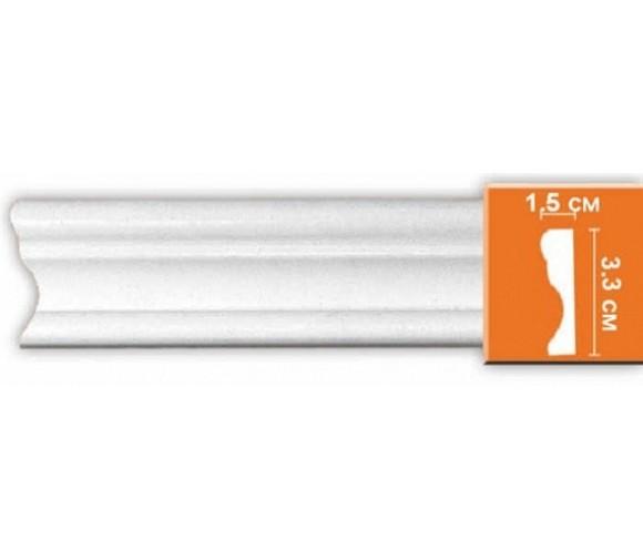 Молдинг полиуретановый Decomaster 97124 2400х33х15 мм