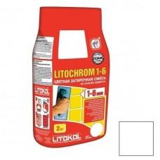 Litokol Litochrom 1-6 C.00 белая 2 кг
