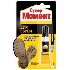 Клей-гель Момент Супер для обуви 3 г