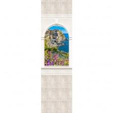 Стеновая панель ПВХ Novita Панорамы 3D Триумф №11 узор 2700х250 мм
