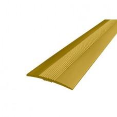 Порожек алюминиевый ДП2 Золото 37х2700 мм