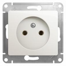 Механизм розетки Schneider Electric Glossa GSL000641 одноместный без заземления перламутр