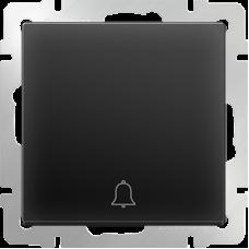 Кнопка звонка Werkel WL08-04-01 черная матовая