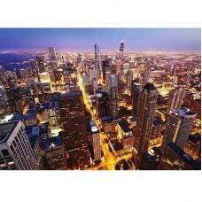 Фотообои виниловые на флизелиновой основе Decocode Панорама Чикаго 41-0096-WV 4х2,8 м