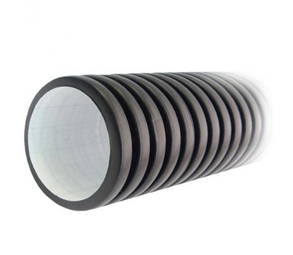 Труба дренажная Полипластик Корсис гофрированная двухслойная SN8 315х6000 мм