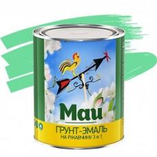 Грунт-эмаль по ржавчине Май 3 в 1 салатная 1,9 кг