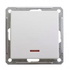 Механизм выключателя Schneider Electric W59 VS116-153-1-86 одноклавишный с индикатором белый