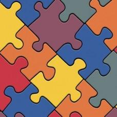 Линолеум бытовой Ivc Bingo Puzzle 50 3х30 м