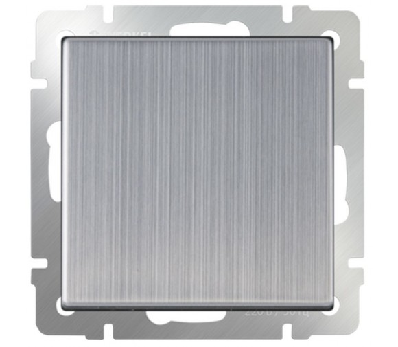 Механизм переключателя перекрестного Werkel WL02-SW-1G-C одноклавишный глянцевый никель