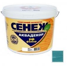 Антисептик тонирующий Сенеж Аквадекор 116 Лагуна 0,9 кг