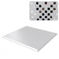 Потолок кассетный Cesal К90 Мозаика белая 051D объемный 300х300 мм