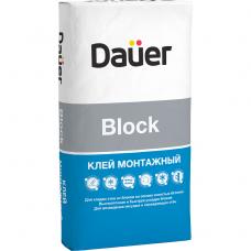 Клей монтажный Dauer Block 40 кг
