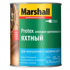 Лак алкидно-уретановый Marshall Protex Яхтный полуматовый 0,75 л