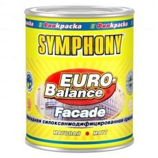 Краска Symphony Euro-Balance Facade Siloxan LС 0,9 л